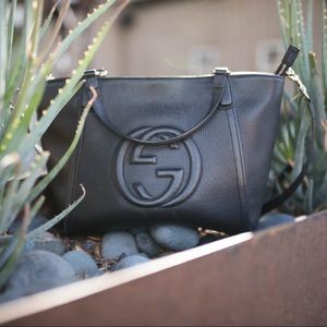 Gucci Bags - 🍃Host Pick🍃Gucci Soho Leather Top Handle Bag Blk